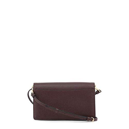 Women's Leather Coach 87401 Clutch LIOXB Brown bags HdnWTZ