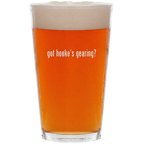 got hooke's gearing? - 16oz Pint Beer Glass (Safety Crown Track)
