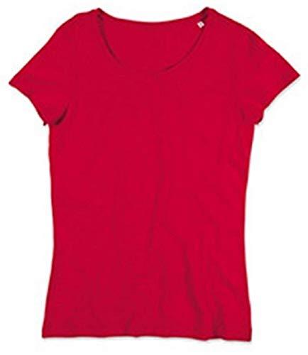 Red Ltd Crimson Camiseta Mujer Absab de wUax1qp4n