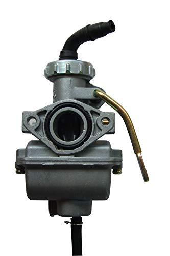 shamofeng PZ20 - Carburador de Mano para ATV TaoTao NST SunL Kazuma Baja 50 CC 70 CC 90 CC 110 CC 125 CC, 1