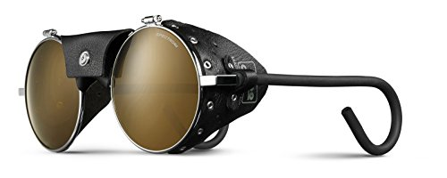 Vermont Classic Sunglasses: Chrome/Black with Spectron 4 Lenses by Julbo