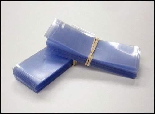 SHRINK WRAP BANDS , Shrinkband Tamper Heat Cellophane Seal 200 pcs bands. (1 3/4'' - 2'' Diameter)