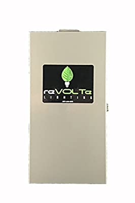 reVOLTe Landscape Lighting SST-150-WiFi Stainless Steel Transformer 150 Watts, Includes WiFi Module