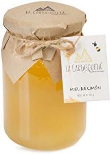Miel de Limón, 500g -Miel pura de abeja 100% Natural - Máxima Calidad - Producción Artesana con Origen en España (costa mediterránea): Amazon.es: Alimentación y bebidas