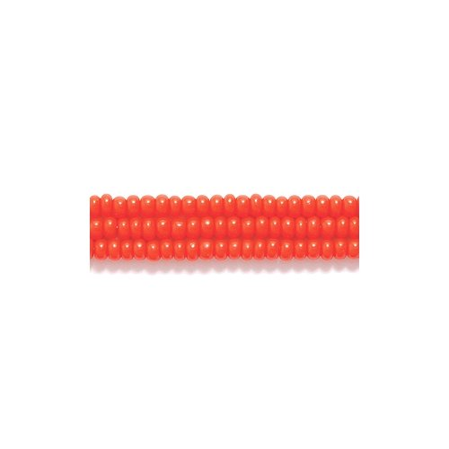 h Seed Bead, Opaque Light Red, Size 11/0 ()