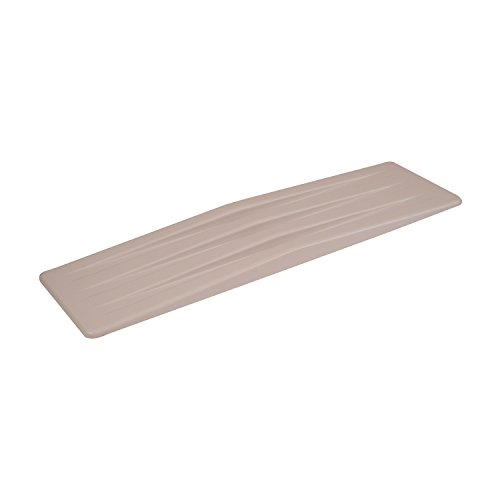 DMI Transfer Slide Board, Transfer Board, Wheelchair Transfer Board, Lightweight Plastic, White (Transfer Board Plastic)