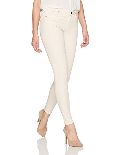 Smiths Blush - Parker Smith Women's Ava Skinny Jeans, Powder, 28