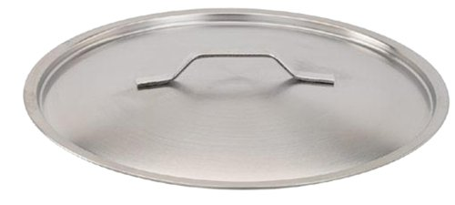 Paderno World Cuisine Stainless Steel Lid, 15 3/4 inch - 1 each.