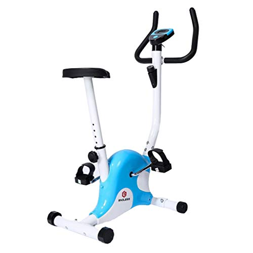 Endless Fitness Steel Exercise Bike (Blue/White)