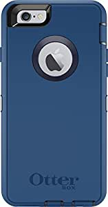 OtterBox Defender Series iPhone 6 ONLY Case - Retail Packaging - Ink Blue (Admiral Blue/Deep Water)