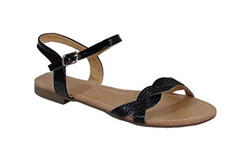 By Shoes - Sandalias para Mujer Negro