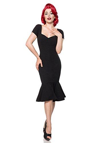 Schwarz Belsira Damen Retro Kleid Damen Belsira vxq4xX