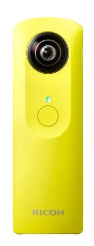 Ricoh Theta M15 360 Degree Spherical Panorama Camera (Yellow) by Ricoh