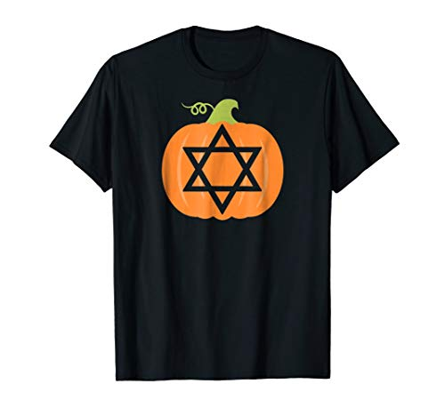 Jewish Star of David Pumpkin Halloween T -