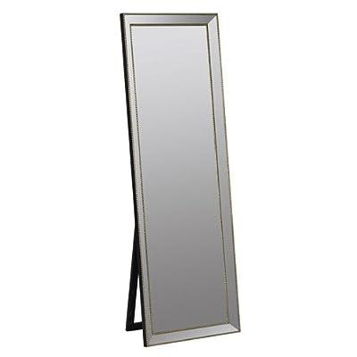 "251 First Cooper Gold Standing Mirror - 24""""W x 68""""H x 2""""D Finish: Gold - mirrors-bedroom-decor, bedroom-decor, bedroom - 319njbY71nL. SS400  -"