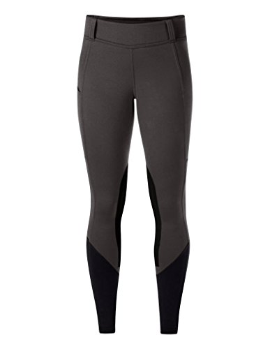 Kerrits Sit Tight Windpro Kneepatch Steel Grey Size: Extra Small