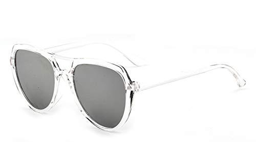 Gnzoe Sunglasses Flat Top Aviator Sunglasses for Men Women Sunglasses ()