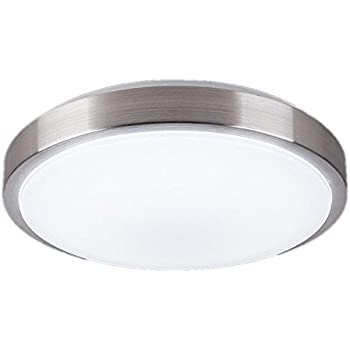 Luxrite 10 inch led flush mount ceiling light 14w 4000k cool white afsemos 10 inch led flush mount ceiling light 12w 960lm 80w incandescent 22w aloadofball Choice Image