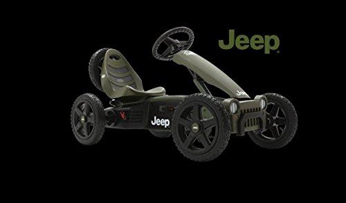 Berg Toys 24.40.10 Jeep Adventure Pedal - Gokart