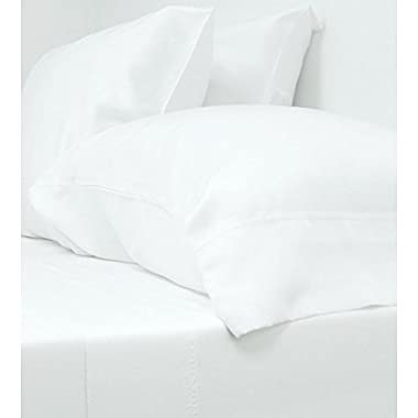 Cariloha Crazy Soft Classic King Sheets - 4 Piece Bed Sheet Set - 100% Viscose From Bamboo (King, White)