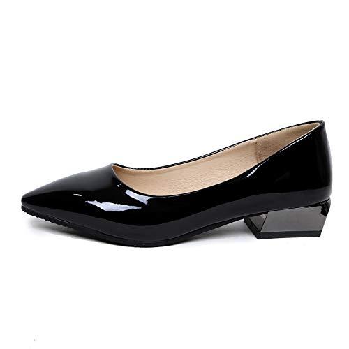 Compensées 5 Noir Noir SDC05715 AdeeSu EU Femme Sandales 36 BAEcq0
