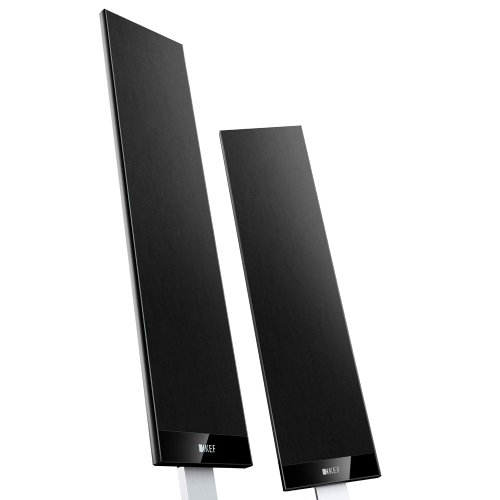 KEF T301 Satellite Speaker - Black (Pair) by KEF