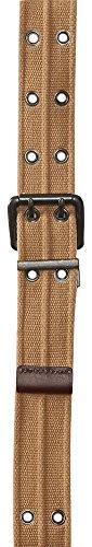 Aeropostale Men's Reversible Grommet Belt M Vintage Cream