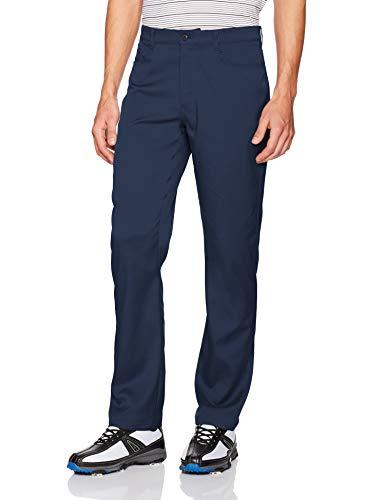 - PGA TOUR  Men's Flat Front Comfort Stretch 5 Pocket Pant, Black Iris, 34W x 30L