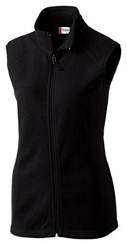 Clique LQO00017 Women's Summit Lady Full Zip Microfleece Vest Black Large Polyester Microfleece Vest