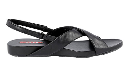 Prada Women's 3X5704 O0Q F0002 Leather Sandals fJqI9wv49v