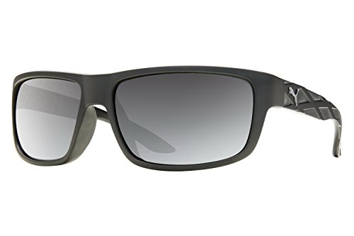 Puma Men's Exo 800 PU 0009S 0009/S 002 Black/Gunmetal Polarized Sunglasses - Men For Puma Sunglasses