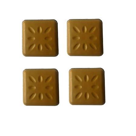 Pack of 4/Teflon Sliders Adhesive Pads Patented Technology Glisdome /50/x 50/mm GPI/