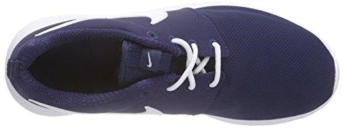 Nike Roshe One (GS) Zapatillas de running, Niños Azul (Midnight Navy/white)
