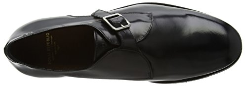Royal RepubliQ Alias Classic Monk Shoe, Stivali Uomo Nero (Nero)