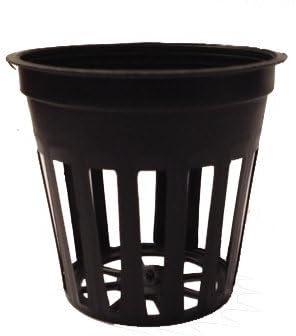 "2"" inch Net Cup Pots Slotted Mesh Pots garden basket 25 pcs Hydroponic Grow"