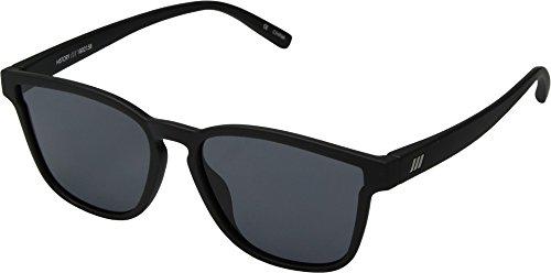 Le Specs Women's History Sunglasses, Black Rubber/Smoke Mono, One - Specs Frame