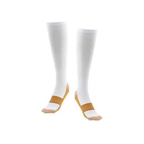 2042224bc8 Medex Lab Thera Copper Compression Socks: Calves High Copper Compression  Socks Aid in Blood Circulation
