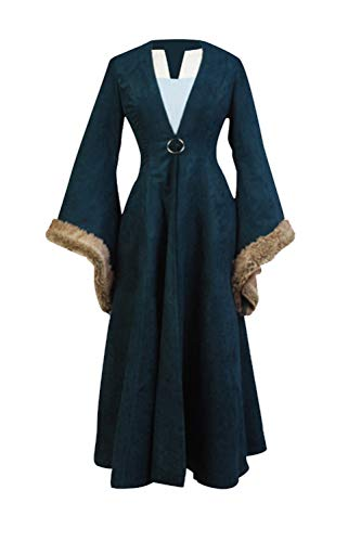GOTEDDY Halloween Catelyn Cosplay Dress Coat Women Party Costume (XXL)]()