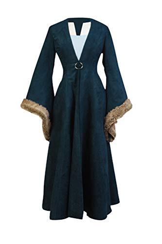 GOTEDDY Halloween Catelyn Cosplay Dress Coat Women Party Costume (XXL)]()