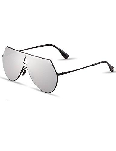 Integral Sonnenbrillen Gezeiten Männer Und Frauen Personalisierte Helle Reflektierende Sonnenbrillen Große Rahmen Brillen ( farbe : 3 ) 6MMAUS3PF