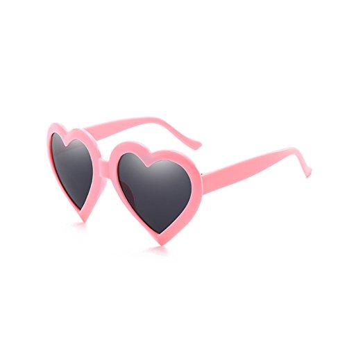 de Dégradé de soleil TiooDre de coeur Mignon nouvelles rose lunettes femmes couleur de Lunettes soleil en mode Lunettes forme color gccFv5