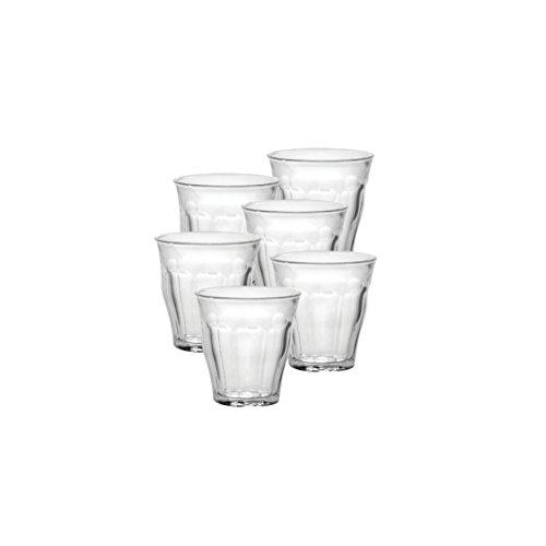 Duralex Picardie Schnapsglas 90ml, ohne Füllstrich, 6 Stück