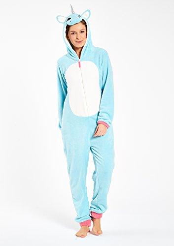 LOLALIZA - Combinaison pyjama style licorne - Faded Blue - Tailles XXS-XL
