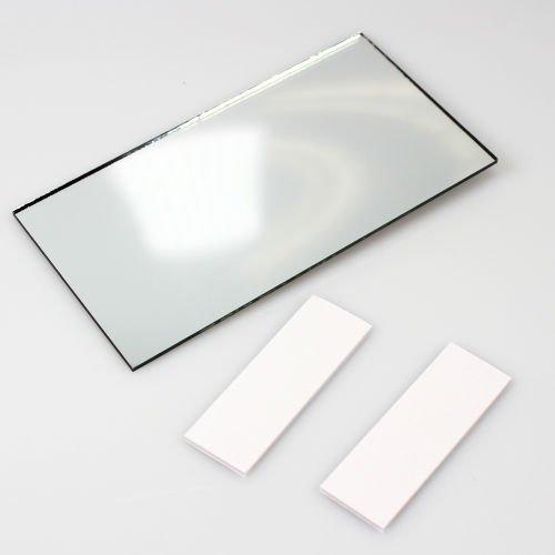 AutoScheich® Auto Camion Make Up Specchio specchio cosmetico sole visiera a specchio retrovisore interno aggiuntivo