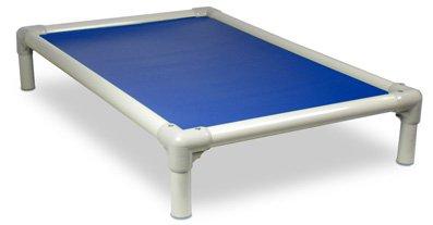 Kuranda Almond PVC Chewproof Dog Bed - XXL (50x36) - 40 oz. Vinyl - Royal Blue
