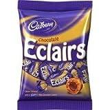 Cadbury Chocolate Eclairs 166g (2 Pack)