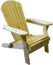 Western Red Cedar Folding Adirondack Bear Chair Kit Review