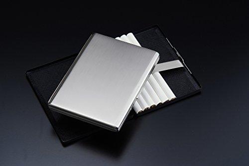 Sarome metal cigarette case EXCC5-01 SKS10 / SILVER SATIN