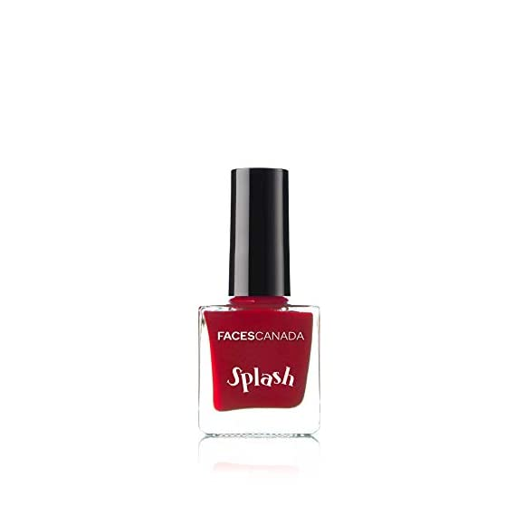 Faces Canada Splash Nail Enamel, Royal Ruby 24, 8 ml