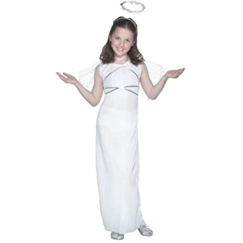 a2dca41870 NEW GIRLS ANGEL HALO CHRISTMAS FANCY DRESS COSTUME AGES YEARS 3 5 Sc 1 St Amazon  UK